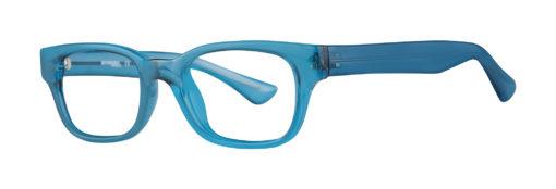 Corvette Blue eyeglass frames