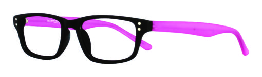Guppy Black Plum Eyeglass Frames
