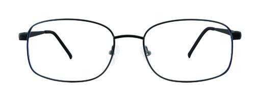 Nolan M Black Eyeglass Frames