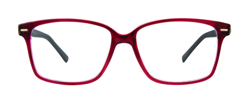 Nora Burgundy Black Eyeglass Frames