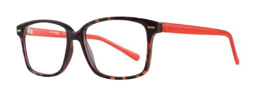 Nora Tortoise Red Eyeglass Frames