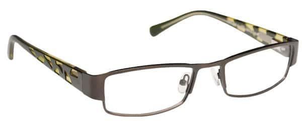 Beaman Green Eyeglass Frames