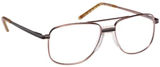 Brady Bronze Eyeglass Frames