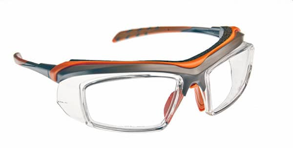 Logan Grey Eyeglass Frames