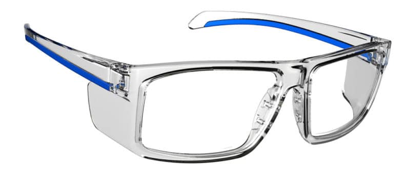 Oden Cry Blue Eyeglass Frames