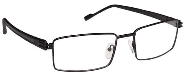 Renton Black Eyeglass Frames