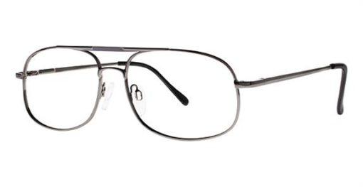 Stewart Gunmetal Eyeglass Frames