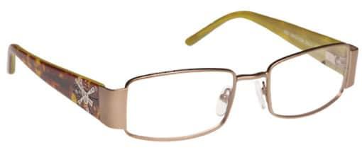 Vida Champagne Eyeglass Frames