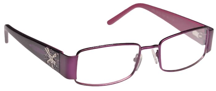 Vida Purple Eyeglass Frames