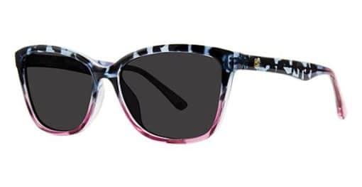 Muse Blue Purple Eyeglass Frames