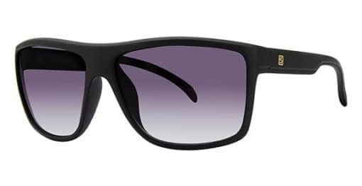 Platte Black Eyeglass Frames