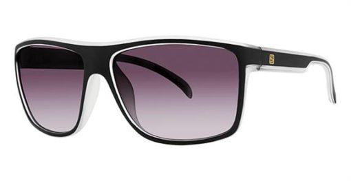 Platte Black Frost Eyeglass Frames