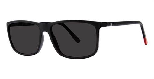 Ponder Black Red Eyeglass Frames