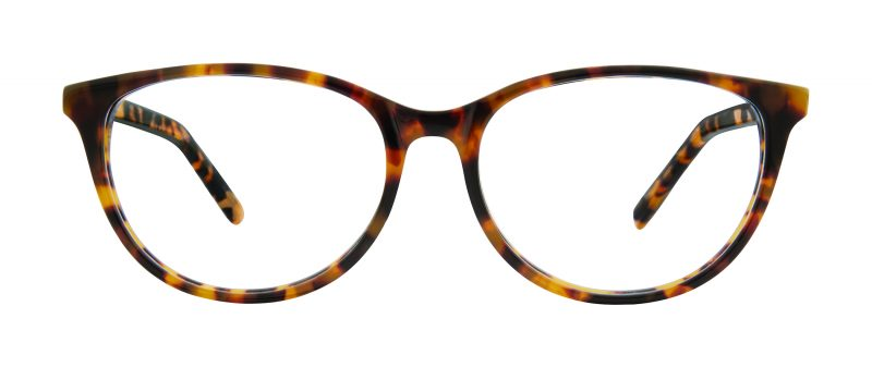 Antigo eyeglass frames in tortoise color