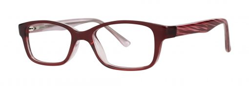 gentle burgundy eyeglass frames