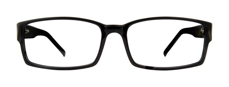 Harris black eyeglass frames