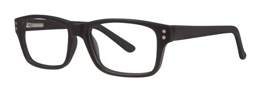 Kenly black matte eyeglass frames