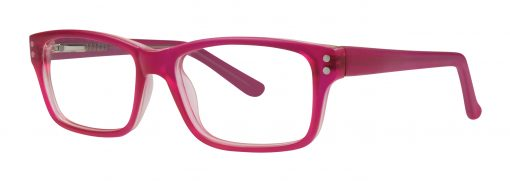 Kenly fushia matte eyeglass frames