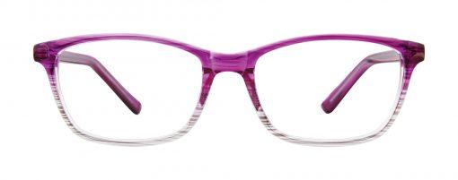 Oceana plum fade eyeglass frames