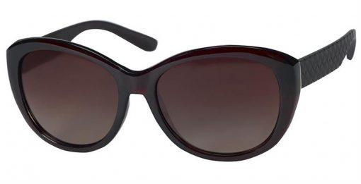 Herrick burgundy crystal eyeglass frames