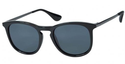 Keyser black eyeglass frames