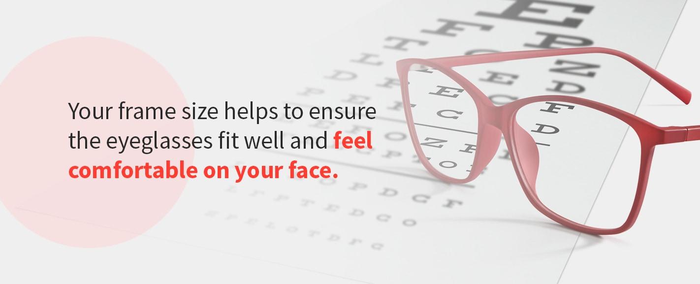 eyeglass frame sizes