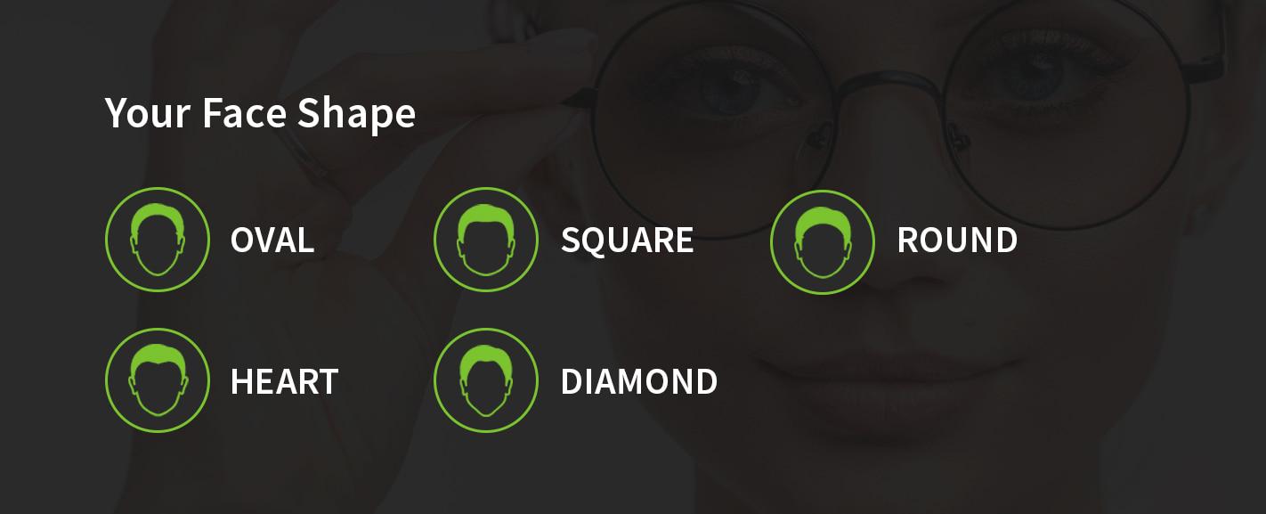 face shape for eyeglasses