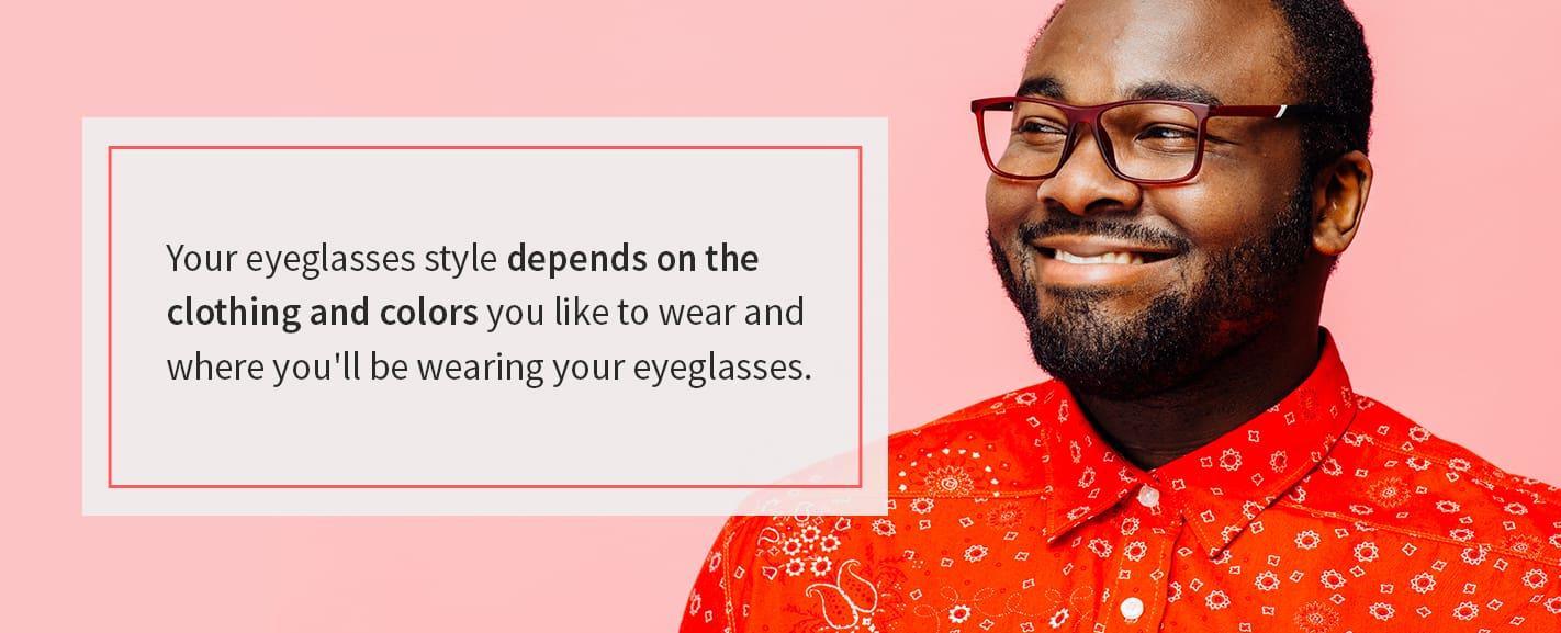 man smiling wearing glasses