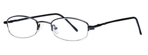 Antigua black eyeglass frames