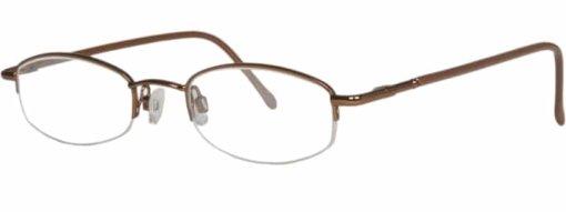 Antigua brown eyeglass frames