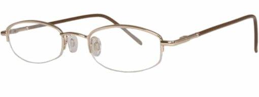 Antigua gold eyeglass frames