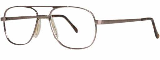 Atherton antique brown eyeglass frames