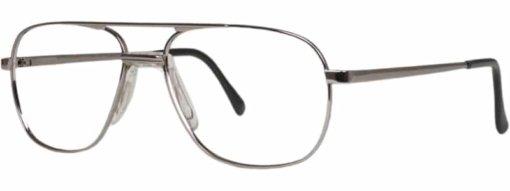 Atherton gunmetal eyeglass frames