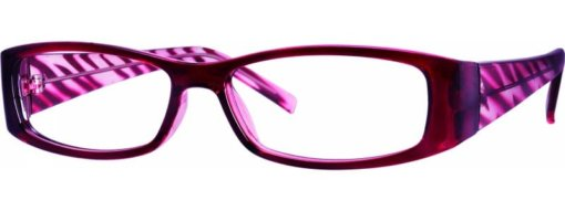 Atlanta burgundy eyeglass frames