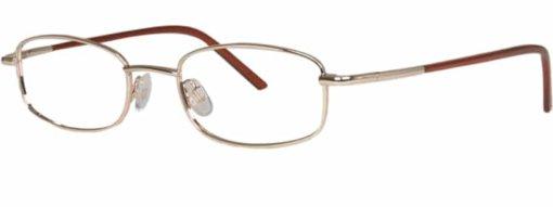 Bath gold eyeglass frames