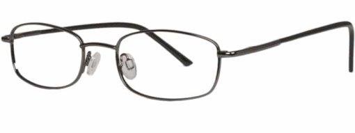 Bath gunmetal eyeglass frames