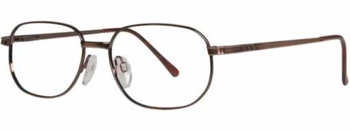 Beaune antique brown eyeglass frames