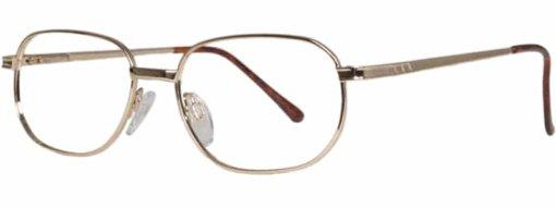 Beaune gold eyeglass frames