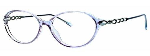Bellamy blue gunmetal eyeglass frames