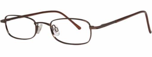 Belmont brown eyeglass frames