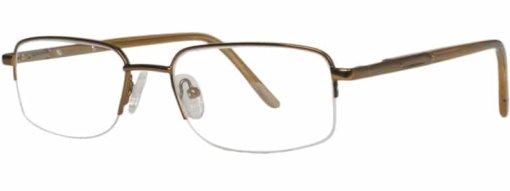 Benson matte brown eyeglass frames