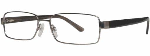 Bitburg gunmetal eyeglass frames