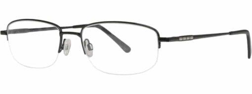 Borsa black & silver eyeglass frames
