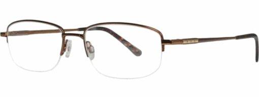 Borsa brown & gold eyeglass frames