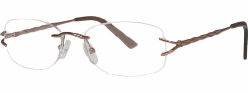 Bridgewater brown eyeglass frames