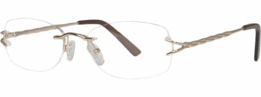 Bridgewater gold eyeglass frames