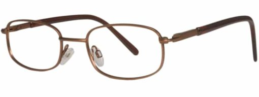 Brooklyn matte brown eyeglass frames