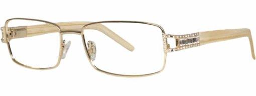 Brookside gold blonde eyeglass frames