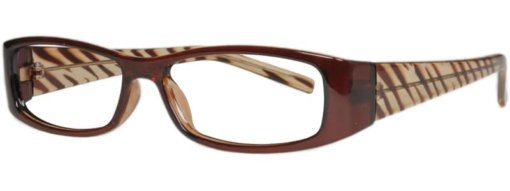 Atlanta brown eyeglass frames
