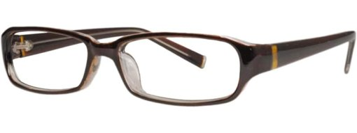 Austin brown & gold eyeglass frames
